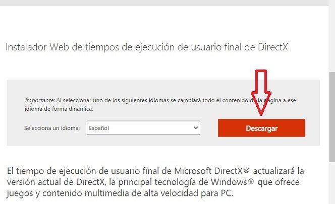 Imagen - DirectX: qué es y cómo actualizar