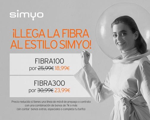 Imagen - Fibra Simyo: velocidades, precios y packs
