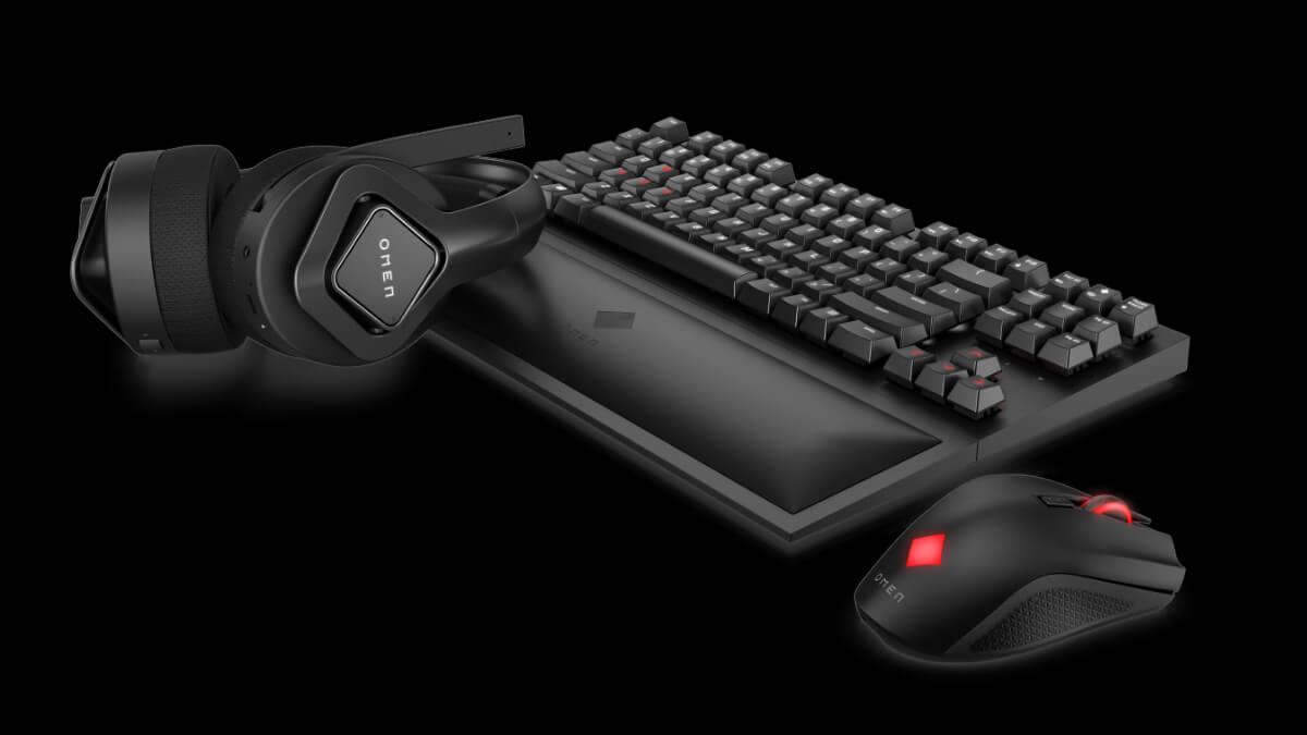 Gaming inalámbrico con baja latencia: así es la nueva gama de accesorios HP OMEN