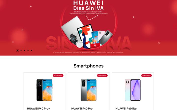 Imagen - Huawei celebra los Días sin IVA: mejores ofertas