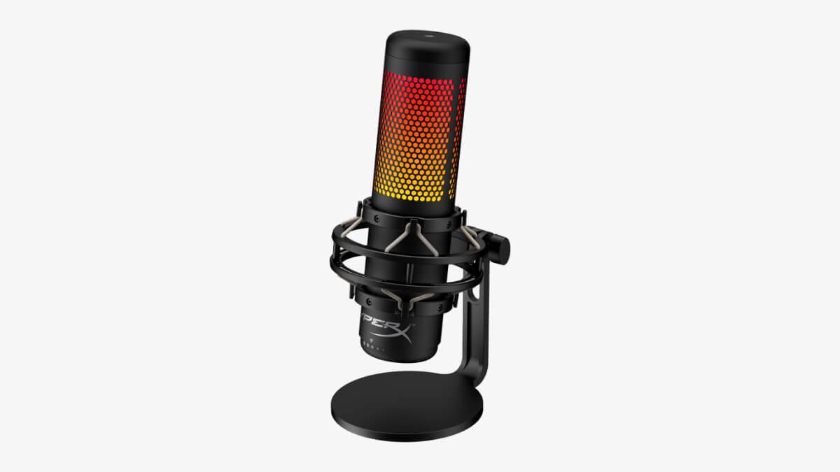 HyperX QuadCast S, un micrófono gaming con iluminación LED y montura antivibración