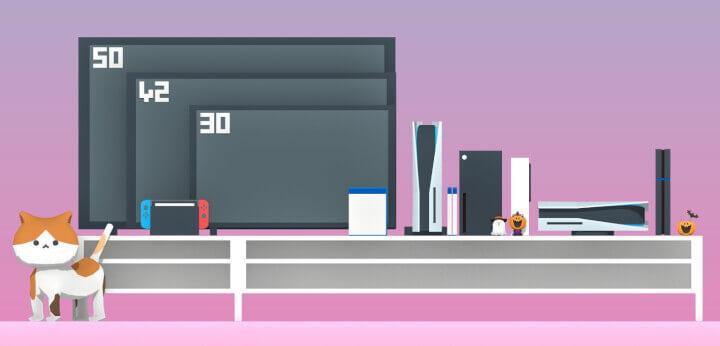 Imagen - PS5: tamaño comparado con televisor y otras consolas