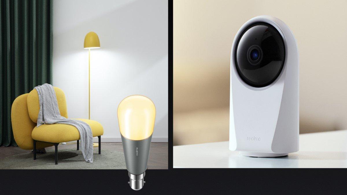 Realme presenta su smart home: Smart Bulb y Smart Cam 360º