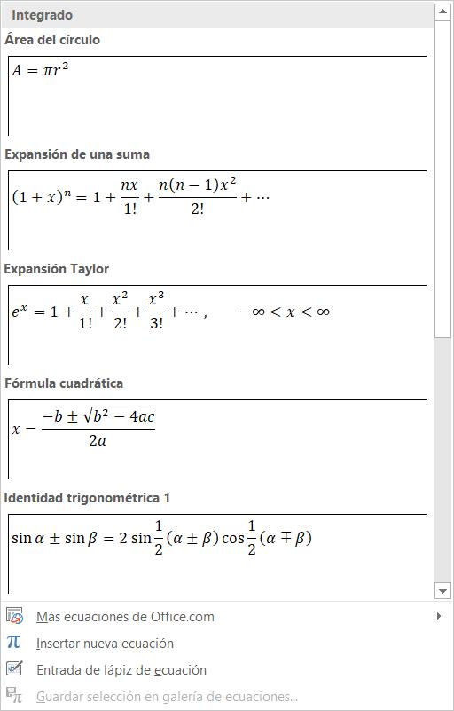 Imagen - Cómo escribir símbolos matemáticos con el ordenador