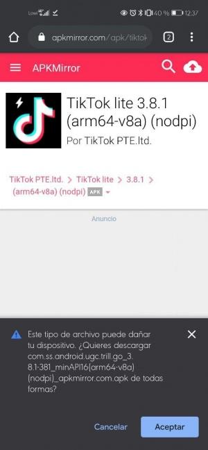 Imagen - Descarga TikTok Lite, la versión más básica