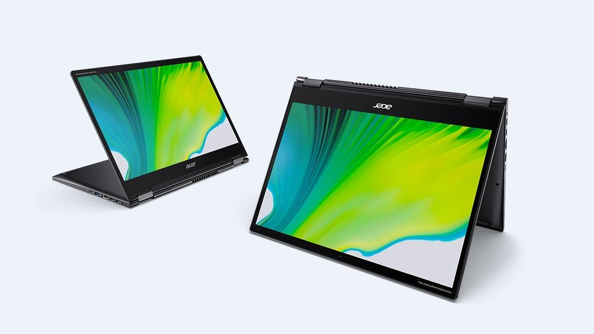 Acer Spin 5 y Spin 3: así son los nuevos convertibles con Intel Core de 11ª generación
