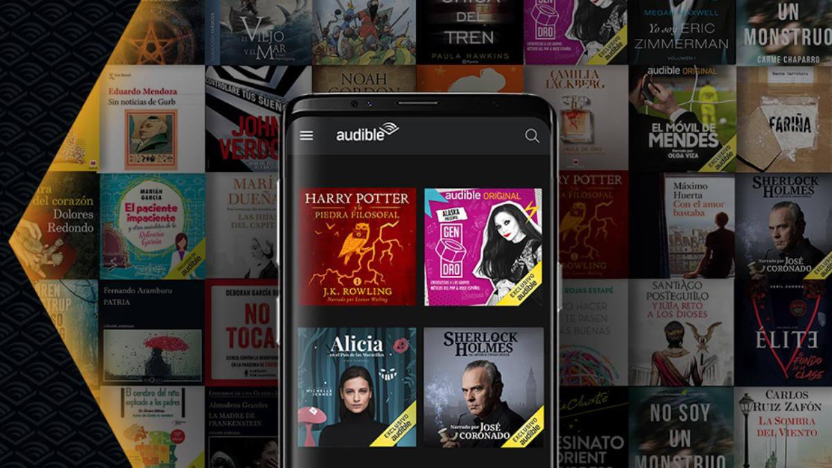 Audible llega a España: los audiolibros y podcasts de Amazon