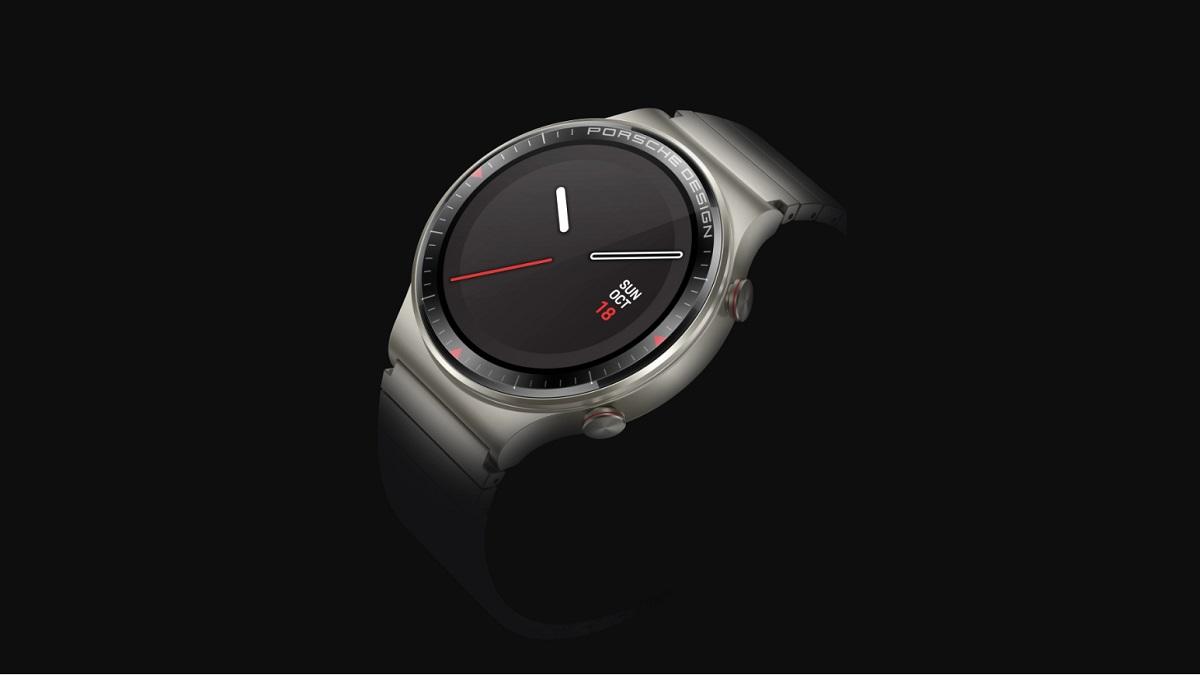 Huawei Watch GT 2 Porsche Design, un reloj con cuerpo de titanio y cristal de zafiro