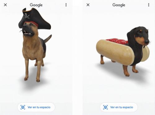 """Imagen - Google añade nuevos """"animales"""" 3D para Halloween"""