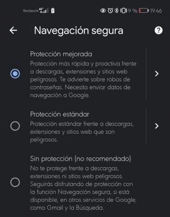Imagen - Cómo activar la mejorada Navegación segura en Chrome