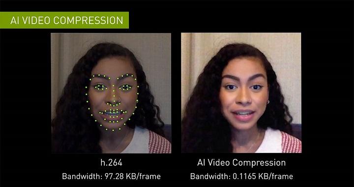 Imagen - Nvidia comprimirá las videollamadas con IA