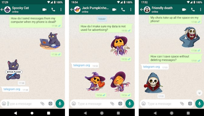 Imagen - Halloween: packs de stickers para WhatsApp