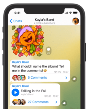 Imagen - Telegram 7: novedades de la nueva versión