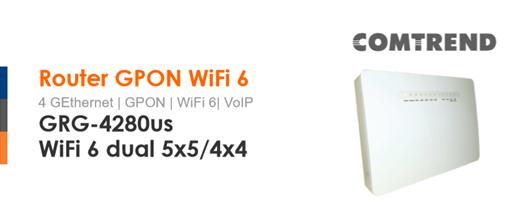Imagen - Yoigo lanza un router WiFi 6: Comtrend GRG-4280us