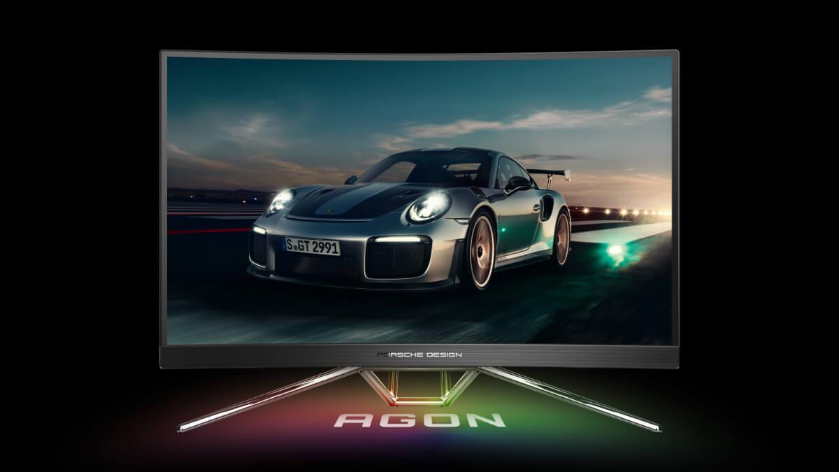 AOC Agon PD27 Porsche Design: el monitor curvo de 240 Hz para el gaming