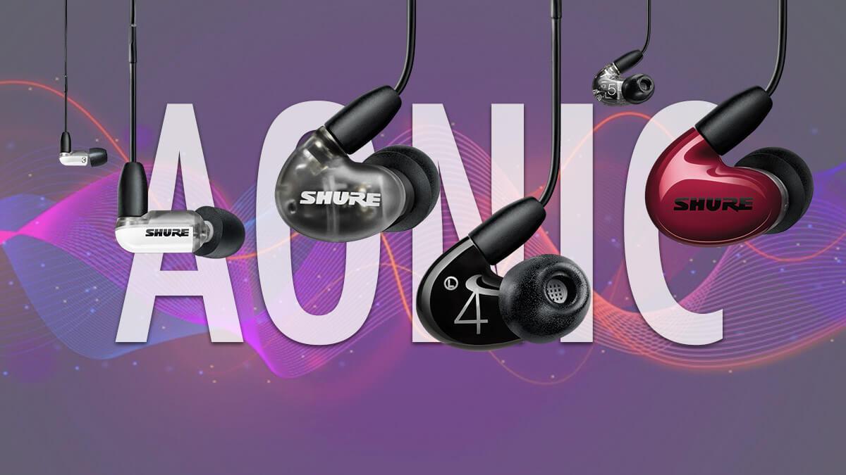 Sound Isolating Aonic 3, 4 y 5: los nuevos auriculares inalámbricos in-ear