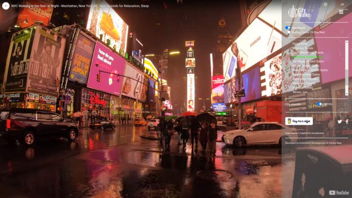 Imagen - City Walks, la web con la que podrás dar paseos virtuales
