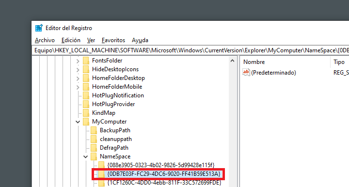Imagen - Cómo eliminar la carpeta de objetos 3D en Windows