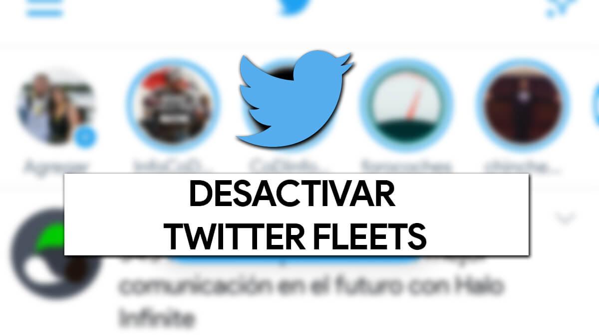 Cómo dejar de ver los Twitter Fleets