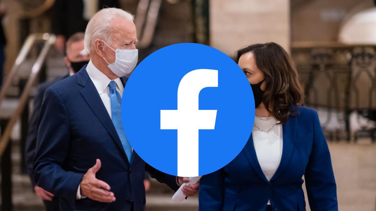 Facebook lo vuelve a hacer: un error penaliza páginas en favor de Biden