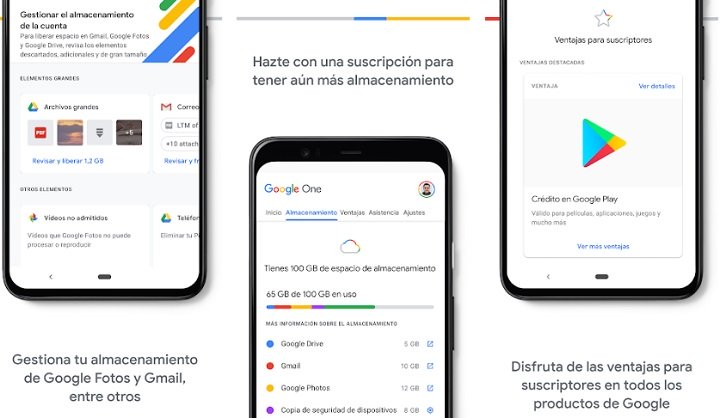 Imagen - Google One: precios en España