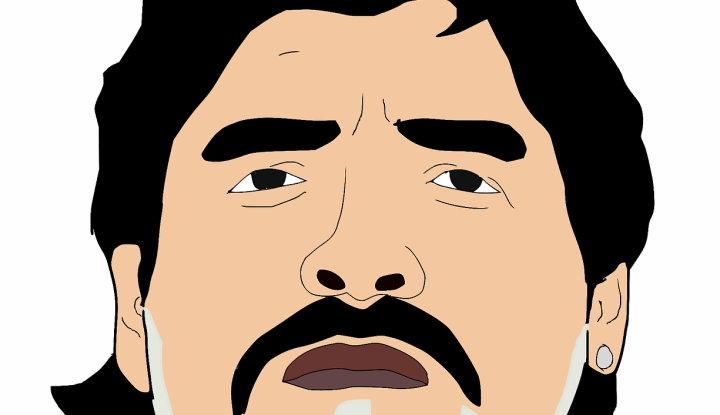 Imagen - Maradona también fue una estrella de los videojuegos