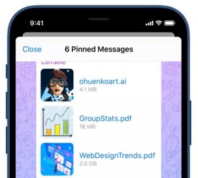 Imagen - Nueva actualización de Telegram: novedades
