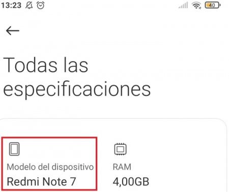 Imagen - Cómo saber qué modelo de Xiaomi tengo