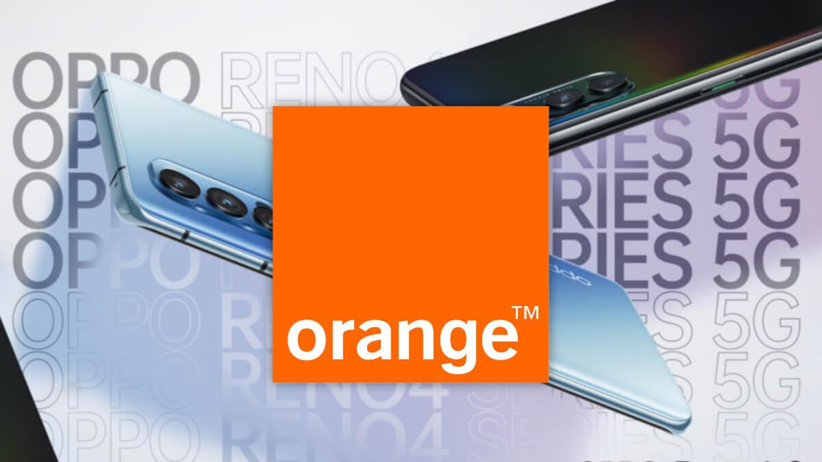 Oppo Reno 4: precios en Orange, Euskaltel, Telecable y R