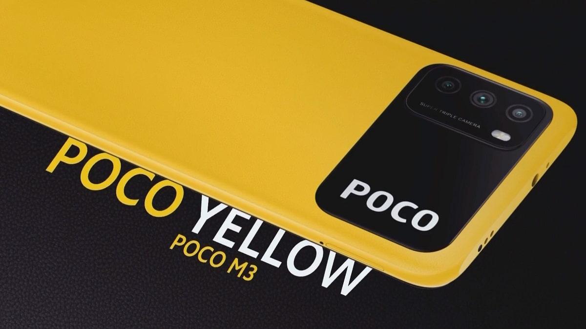 """Poco M3: diseño disruptivo y batería de 6.000 mAh en el último móvil """"low cost"""" de Xiaomi"""