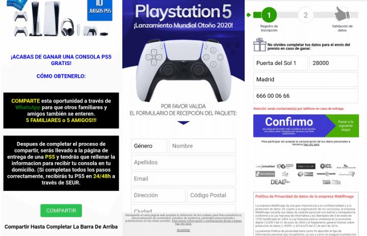 """Imagen - """"Sony está regalando PS5"""" por WhatsApp, ¿es cierto?"""
