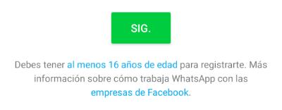 Imagen - ¿Cuál es la edad mínima para tener WhatsApp?