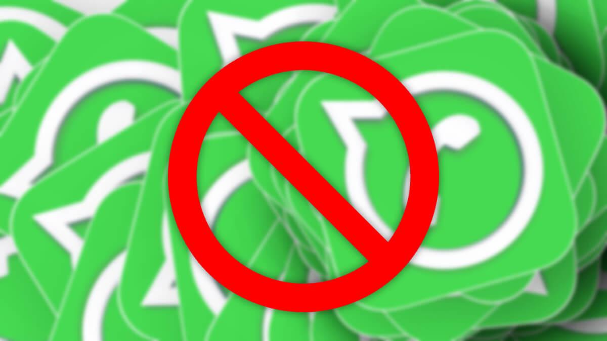12 motivos por los que WhatsApp puede banearte o expulsarte