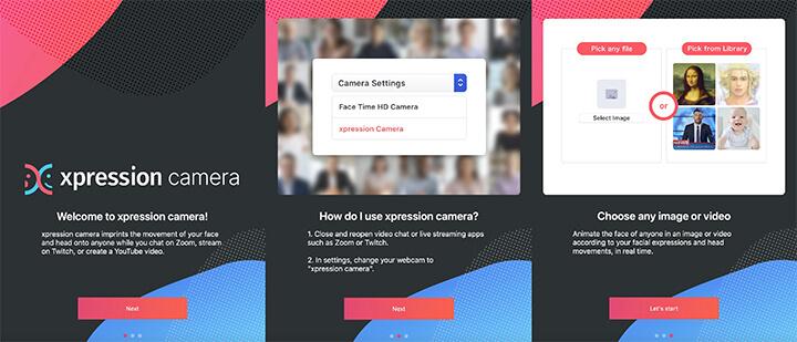 Imagen - Xpression Camera: graba vídeos con la cara de famosos