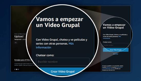 Imagen - Cómo usar Vídeo Grupal de Amazon Prime Video