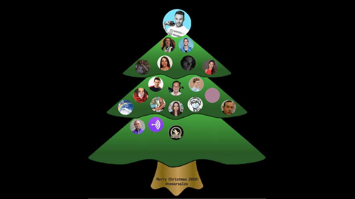 Crea tu árbol de Navidad con tus contactos de Twitter gracias a Real Top Tweeps