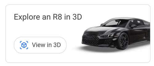 Imagen - Cómo ver coches en 3D con la realidad aumentada de Google