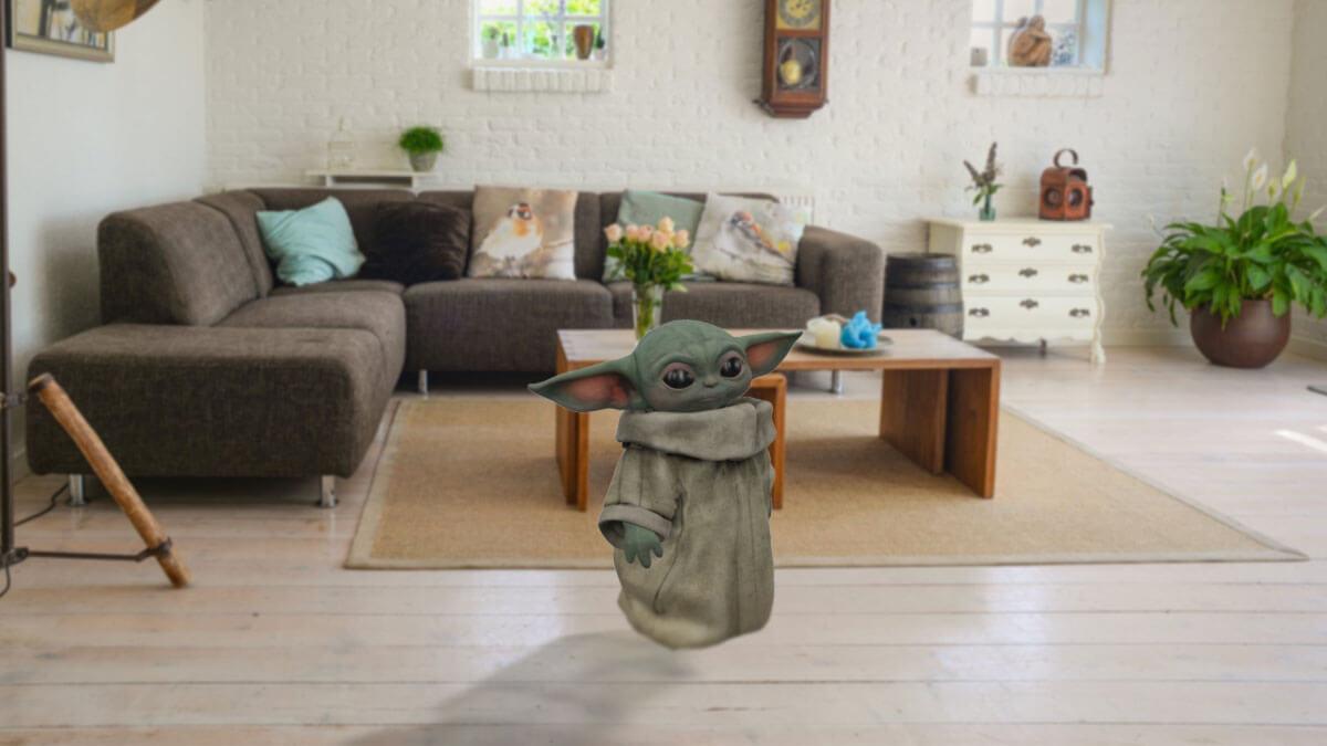 Cómo ver un Baby Yoda 3D gracias a Google