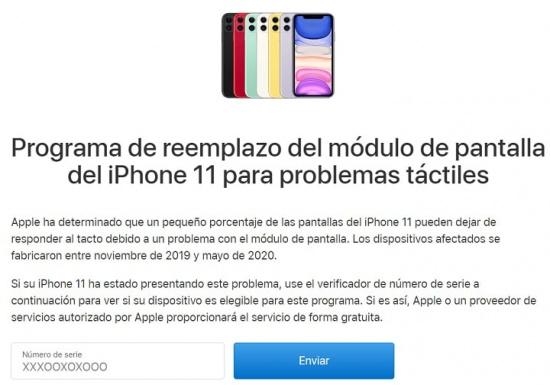 Imagen - ¿iPhone 11 con pantalla defectuosa? Apple la cambiará gratis