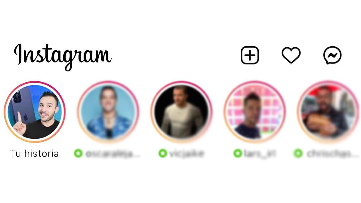 Instagram añade una estrella verde a las Stories de tus mejores amigos