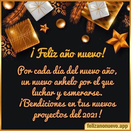 Imagen - 21 felicitaciones de Año Nuevo 2021 para enviar por WhatsApp