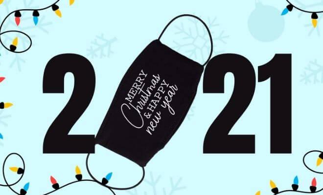 Imagen - Felicitaciones de Año Nuevo 2021 para enviar por Instagram