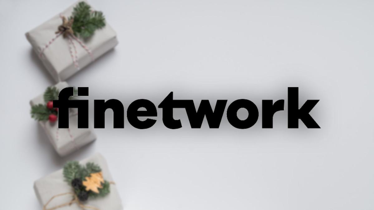 Finetwork: 25 GB como promoción de Navidad, nuevas tarifas y regalos con las altas