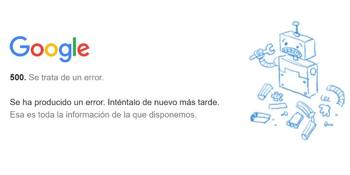 Imagen - Gmail, YouTube y Drive se han caído y no funcionan