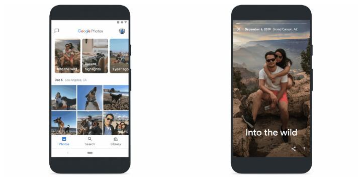 Imagen - Novedades en Google Fotos: fotos cinemáticas y más