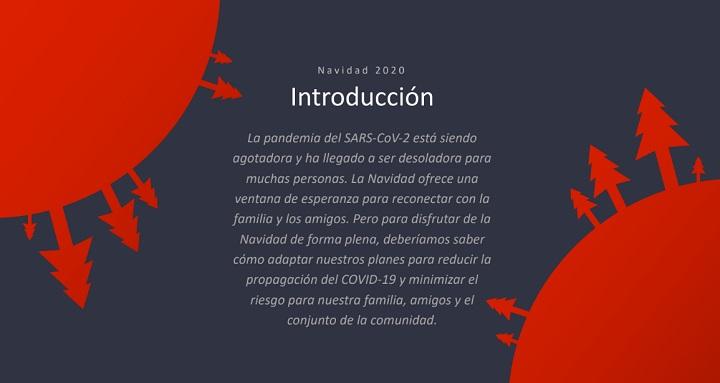 Imagen - Navidadesseguras.es, la web de para prevenir el COVID-19