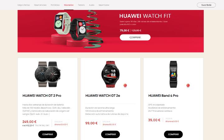 Imagen - Huawei Store: ventajas al comprar en ella en Navidad 2020
