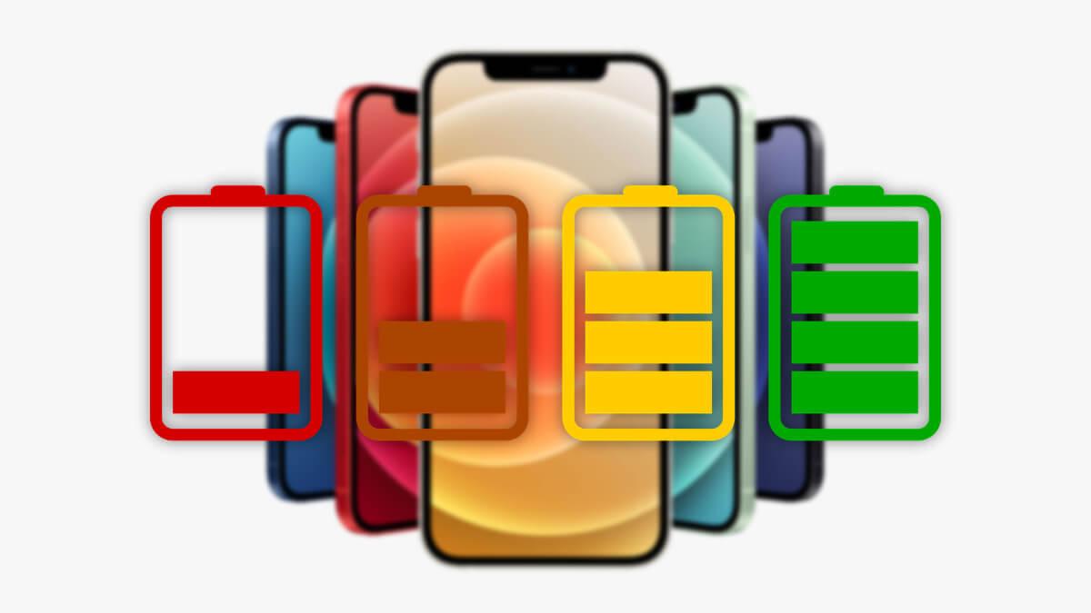 Problemas de batería en el iPhone 12: se agota rápidamente