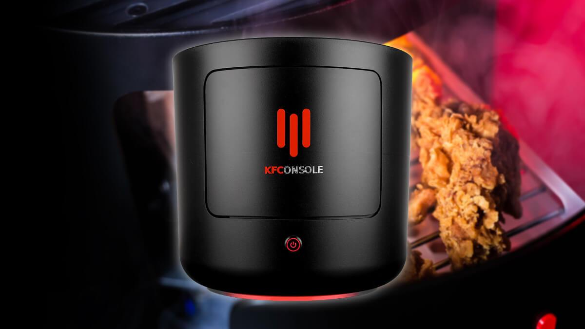 KFConsole, la consola de KFC que parece una broma pero calienta el pollo