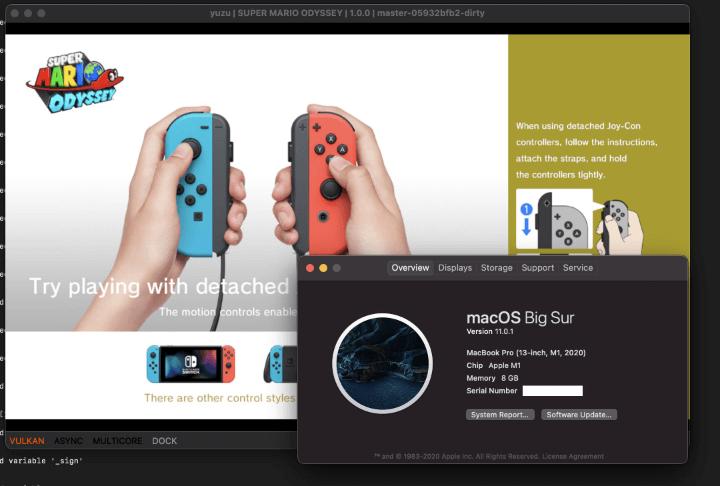 Imagen - Un emulador de Nintendo Switch en Mac M1 está en desarrollo